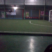 Photo taken at Galaxy Futsal Center by Riah on 12/17/2012