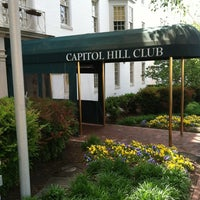 Photo taken at Capitol Hill Club by David N. on 1/10/2013