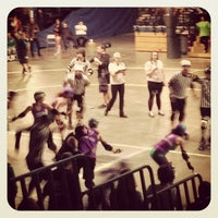 Photo taken at Roller Derby by Thom D. on 11/17/2013