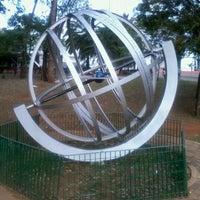 Photo taken at Planetário Professor Aristóteles Orsini by Camila O. on 9/22/2012