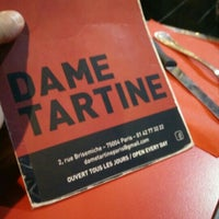 Photo taken at Dame Tartine by Skyseb - Sébastien T. on 5/6/2016