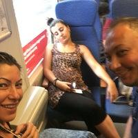 Photo taken at Stazione Caronno Pertusella by Ebru Can I. on 7/21/2016
