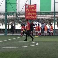 Photo taken at Galatasaray Futbol Okulu by Serdar H. on 5/1/2016