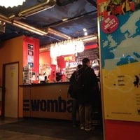 Photo taken at Wombat's City Hostel Vienna - The Base by Mari K. on 10/31/2012