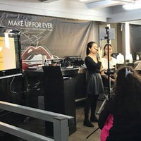 Photo taken at MAKE UP FOR EVER by Jackie L. on 2/21/2017