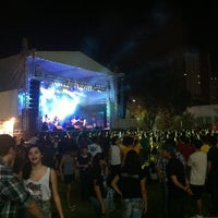 Photo taken at Praça Verde by Jéssica N. on 3/9/2013
