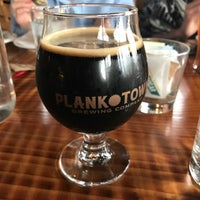 Photo taken at Plank Town Brewing Company by Kevin R. on 1/8/2017