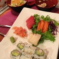 Photo taken at Fujiyama Seafood & Steak by K on 12/14/2012