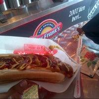 Photo taken at New Frank`s Hot Dog - Canakkale Subesı by Aysem Y. on 8/11/2013