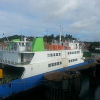 Photo taken at Ferry Boat Juracy Magalhães by Patricia B. on 5/22/2014