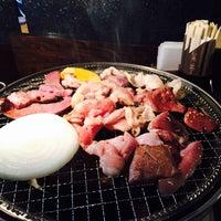 Photo taken at 炭火焼肉 牛乃家 by kyouhei on 6/27/2015