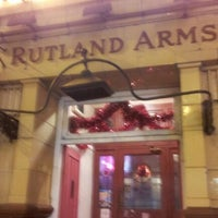 Photo taken at Rutland Arms by Mike G. on 11/29/2012