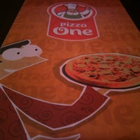 Photo taken at Pizza One by Humberto P. on 1/20/2013