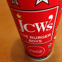 Photo taken at JCW's The Burger Boys by Tim G. on 1/19/2013