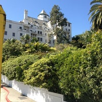 Photo taken at Château Marmont by pinkgerbers on 3/11/2013