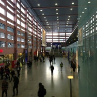 Photo taken at Innsbruck Hauptbahnhof by Christian P. on 1/15/2013