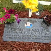 Photo taken at Forest Hill Cemetery by Lori J. on 5/28/2013