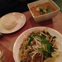 Photo taken at Song Thai Restaurant & Bar by Lorie A. on 12/27/2012