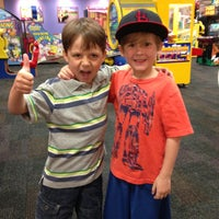 Photo taken at Chuck E Cheese by Amanda L. on 4/14/2013