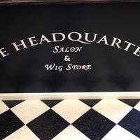 Photo taken at The Headquarters Salon & Wig Store by Jeremy K. on 8/7/2013