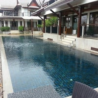 Photo taken at Baan Yin Dee Boutique Resort by Michael S. on 6/10/2013