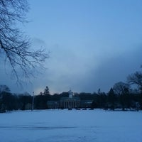 Photo taken at Memorial Park Playground by Neal H. on 2/27/2014