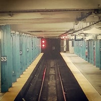 Photo taken at 33rd St PATH Station by Neal H. on 4/16/2015