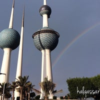Photo taken at ابراج الكويت by Ali B. on 11/24/2014