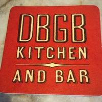 Photo taken at DBGB Kitchen and Bar by Jeffrey G. on 8/23/2017