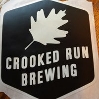 Photo taken at Crooked Run Brewing by Jeffrey G. on 11/18/2017