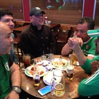 Photo taken at Pat's Pizza & Pasta/MVP Sports Lounge by Birkan K. on 4/16/2015