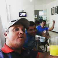 Photo taken at Hotel Coqueiros Express by Dentão Racing B. on 5/24/2015