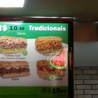 Photo taken at Subway by Luís S. on 1/22/2013