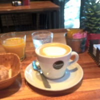 Photo taken at Espressione Café by Paula C. on 12/24/2016