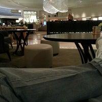 Photo taken at Hilton Munich Park by Douglas F. on 3/17/2013