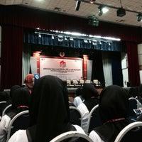 Photo taken at Dewan Tunku Mahkota Ismail (DTMI) , UTHM by Aisyah A. on 6/3/2015