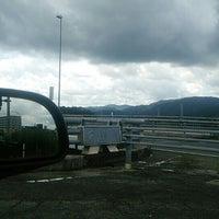Photo taken at 神島橋 by スーパー早島 on 6/23/2016
