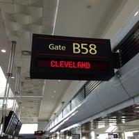 Photo taken at Gate B58 by Tom on 10/22/2013
