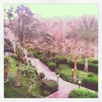 Photo taken at Palmera Beach Resort Ain Sukhna by som3a n. on 4/26/2014