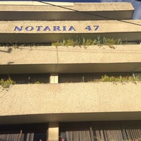 Photo taken at Notaria 47 by Luis Buzz G. on 4/1/2014