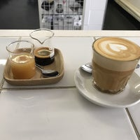 Photo taken at Espresso Lab Microroasters by Jonathan E. on 8/14/2017