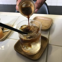 Photo taken at Espresso Lab Microroasters by Jonathan E. on 10/16/2017
