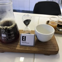 Photo taken at Espresso Lab Microroasters by Jonathan E. on 9/1/2017