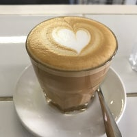 Photo taken at Espresso Lab Microroasters by Jonathan E. on 4/19/2017