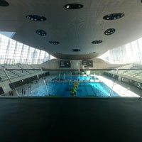Photo taken at Better London Aquatics Centre by Stephen W. on 4/13/2014