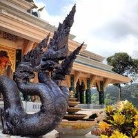 Photo taken at Wat Pa Phu Kon by Jeff Jodok H. on 5/13/2013