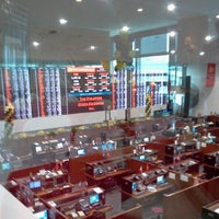 Photo taken at PSE Broker's Lounge by Paul G. on 3/11/2014