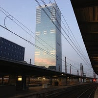 Photo taken at Brussels-South Railway Station (ZYR) by Manon on 10/21/2012