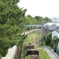 Photo taken at 阪神電車武庫川線 by Junichi T. on 6/15/2016