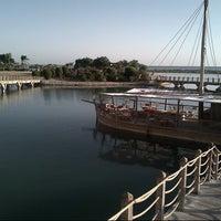 Photo taken at Sheraton Miramar Resort El Gouna by Dr. Franz on 11/1/2012